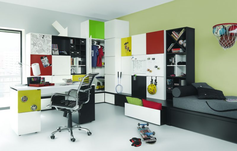Meble stylowe for Jugendzimmer young users